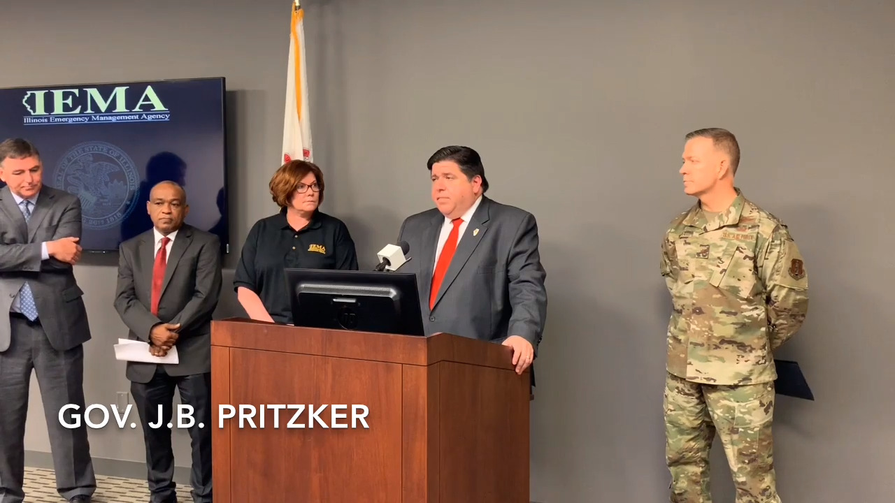 Pritzker will visit metro-east Tuesday afternoon to view flooding in the region