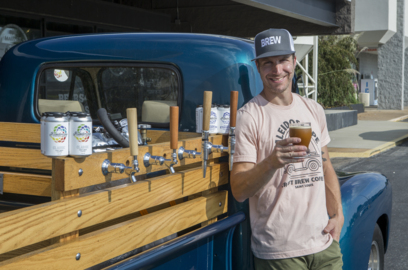 Belleville company brews a cold coffee and takes it to customers in classic vehicles