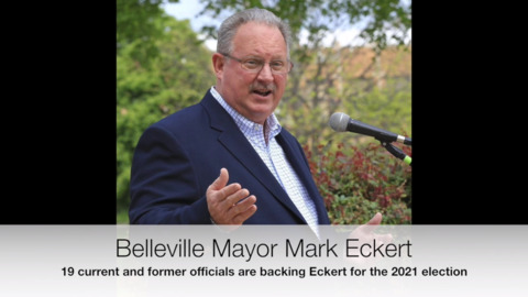 Next mayoral election isn't until 2021, but Eckert campaign already gearing up for battle