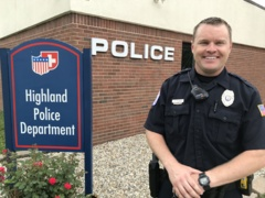 Listen to a Q&A session with Highland's new school resource officer