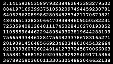 Facts about pi on Pi Day