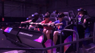 The Edge shows off its new virtual reality ride, other attractions