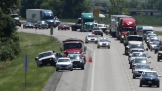 Traffic snarled on I-255