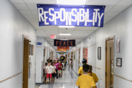 This Belleville school honored for teaching moral lessons along with math, English, science