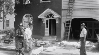 Belleville's West End experienced explosions and fires on July 24, 1958.