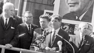 Two years before his assassination, Robert Kennedy spoke in East St. Louis.