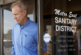 Gov. Bruce Rauner vetoes bill at Metro East Sanitary District