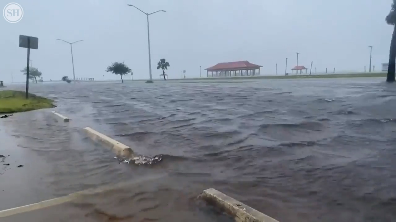 Photos Video Of Tropical Storm Cristobal On Ms Gulf Coast