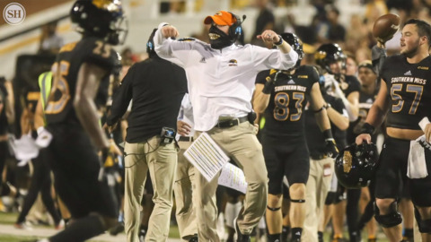 'It's been a whirlwind,' Scotty Walden talks transition to interim head coach for Southern Miss