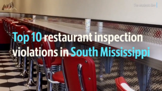 Country club, downtown Gulfport restaurant cited by health department