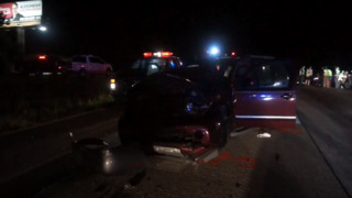 Three injured in two-car accident in Harrison County