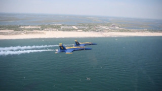 Blue Angels create hype video for Pensacola air show