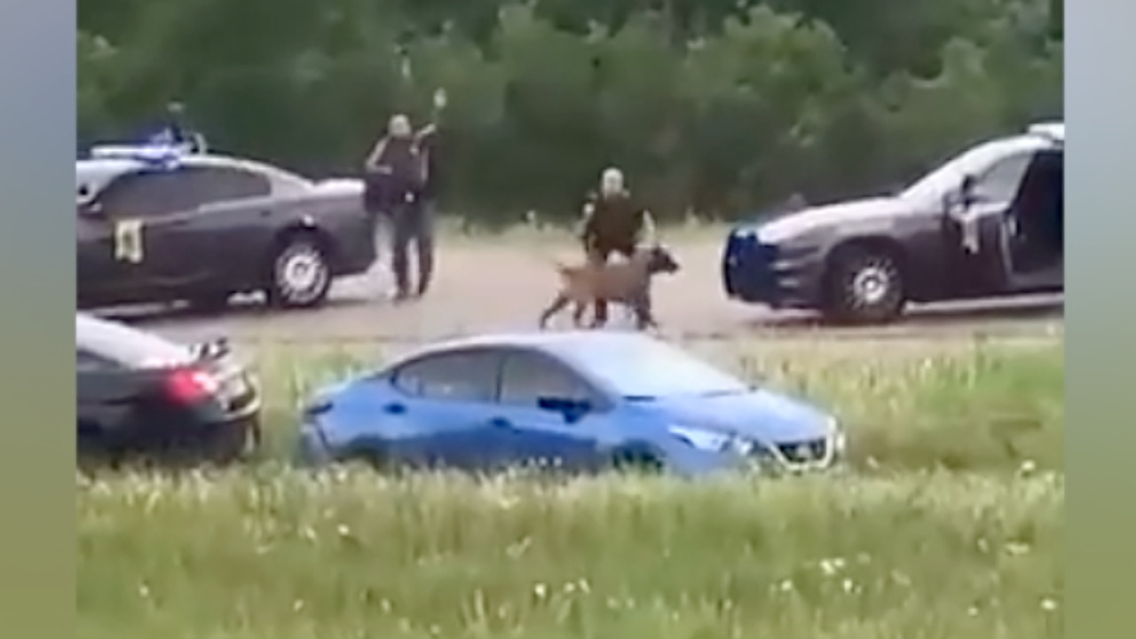 Mississippi police shoot more than 20 rounds at car in fatal I-10 pursuit, video shows