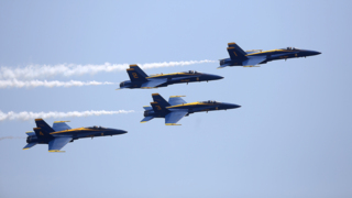 Blue Angels wow huge crowd during air show in Biloxi