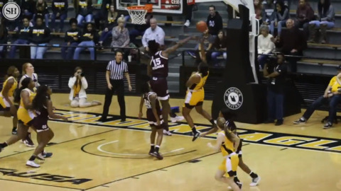 Mississippi State women shut down Southern Miss in second half