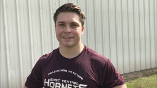 East Central running back talks about overcoming health scare