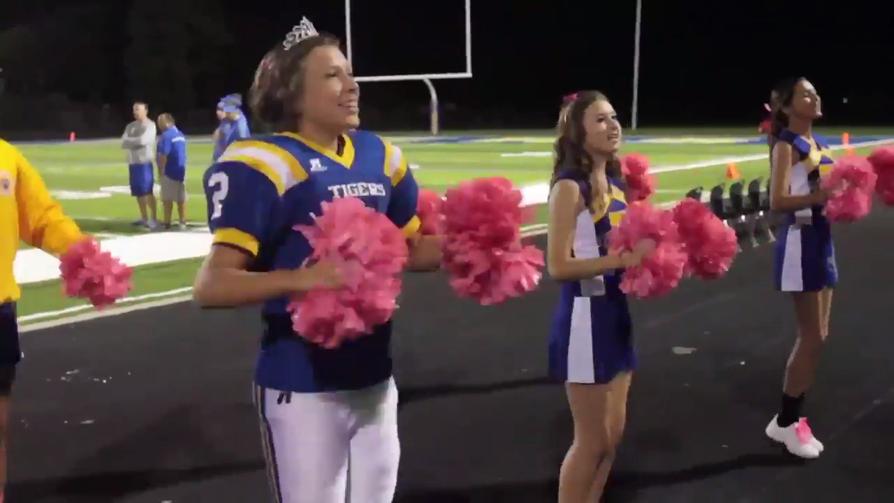 A Coast football player and homecoming queen was almost part of controversial Nike ad