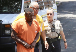 'I done it,' says man accused of decapitating mom as he walks into Stone County court