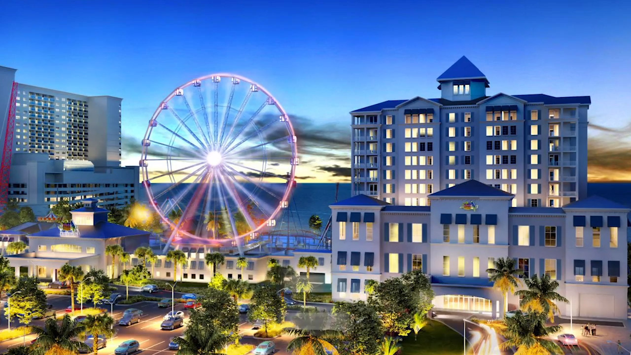 Construction underway for Margaritaville amusement park in