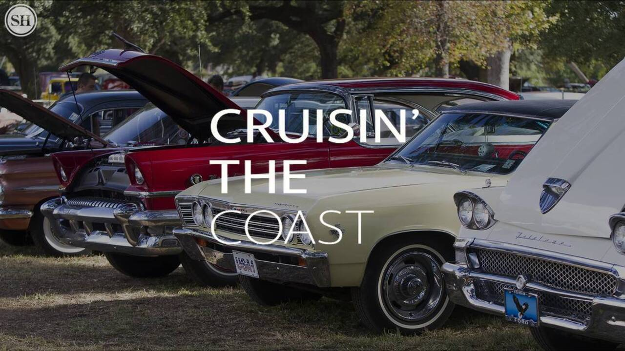 You never know what you'll see or who you'll meet at Cruisin' the Coast
