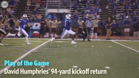 Play of the Game: Humphries answers Rebel touchdown with 94-yard kickoff return