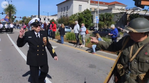 Gulf Coast Veterans Parade in Gulfport honors those who served.