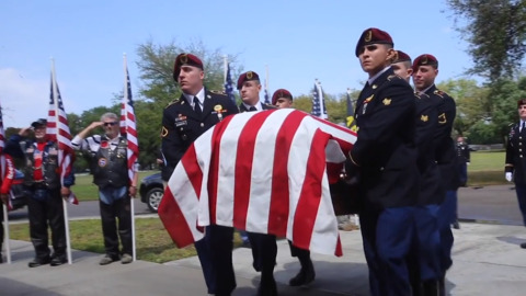 A soldier's remains return to Mississippi, 68 years after he died in the Korean War