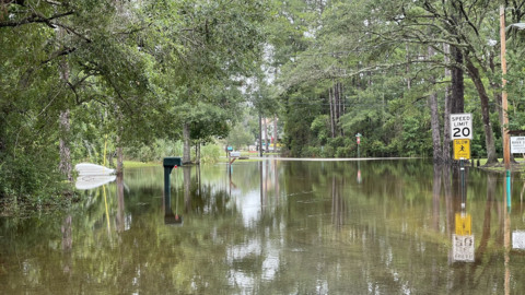 Watch the aftermath of Tropical Storm Claudette in Mississippi