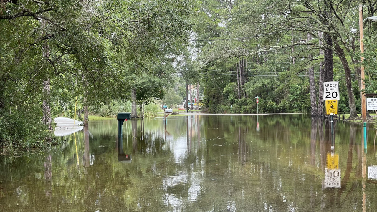 Scenes from Claudette across the Gulf Coast: Flooded homes and cars, tornadoes, gators
