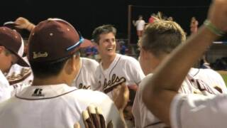 George County celebrates 6A South State with a dog pile