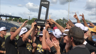 Southern Miss celebrates C-USA title win in Biloxi