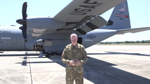 Air Force unit to fly over Mississippi Coast hospitals as thank you to COVID-19 workers