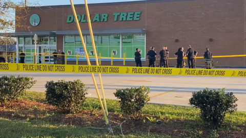 Man shot by Gulfport Police outside of Dollar Tree