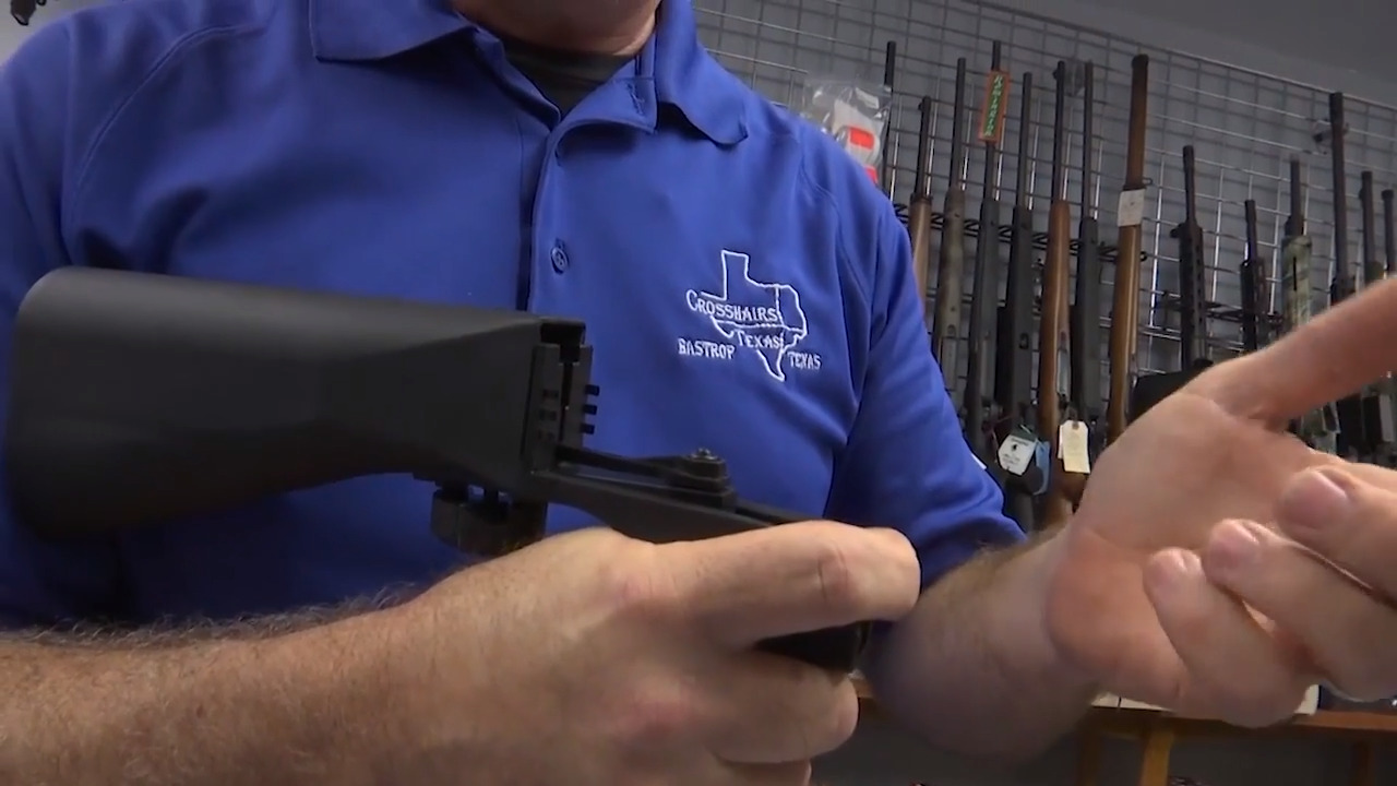 Justice Department indicts Houston man in bump stock case