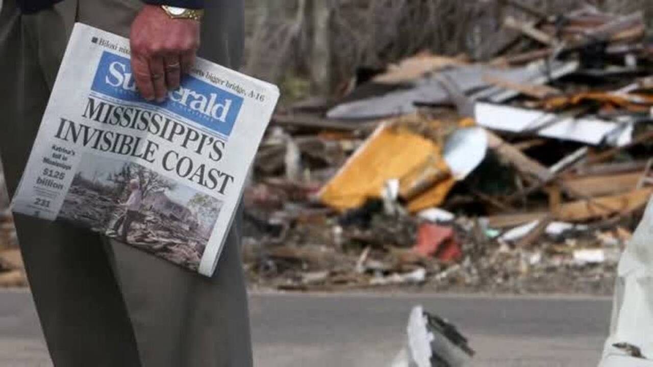 Our story: How Sun Herald staff lived and reported on Hurricane Katrina