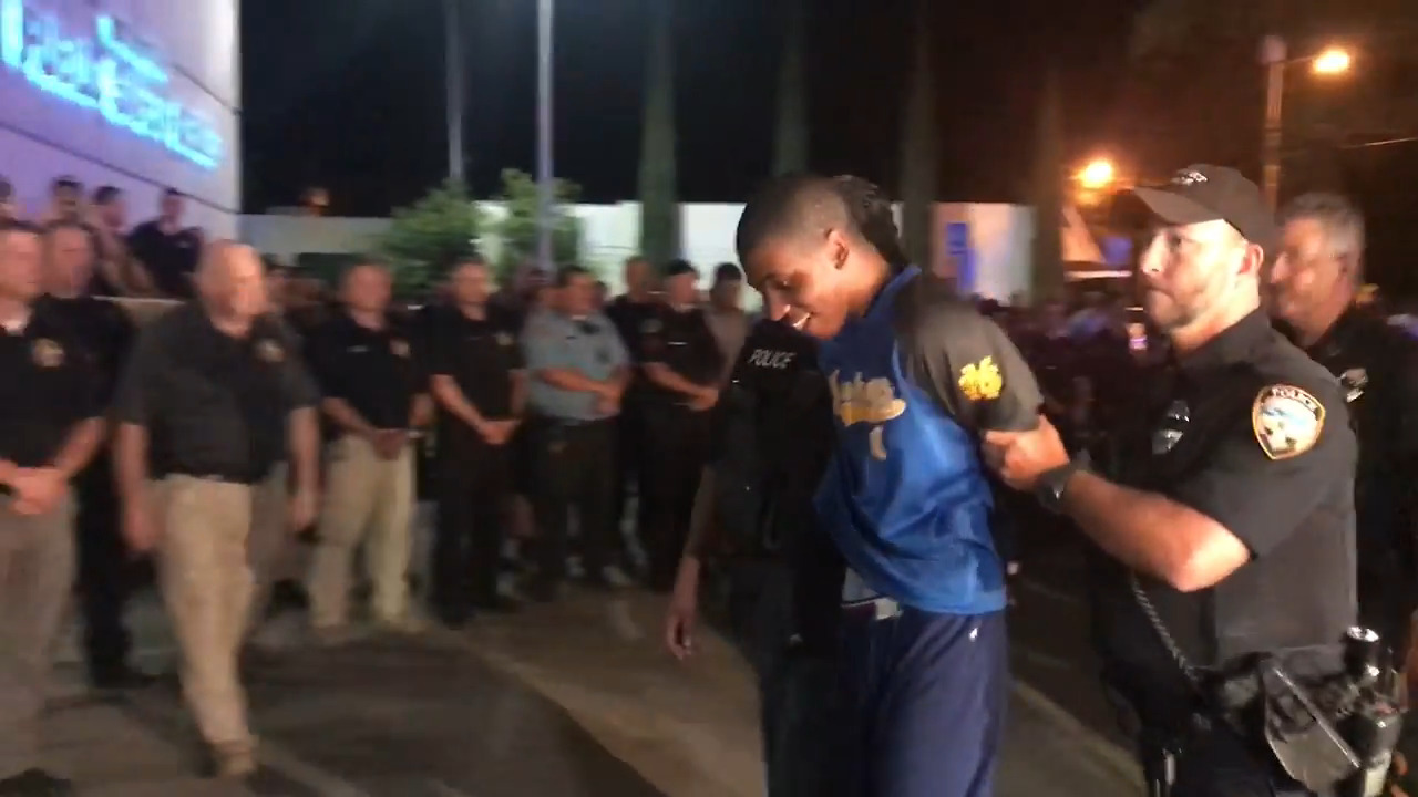 Manhunt for suspect in Biloxi officer's fatal shooting is over