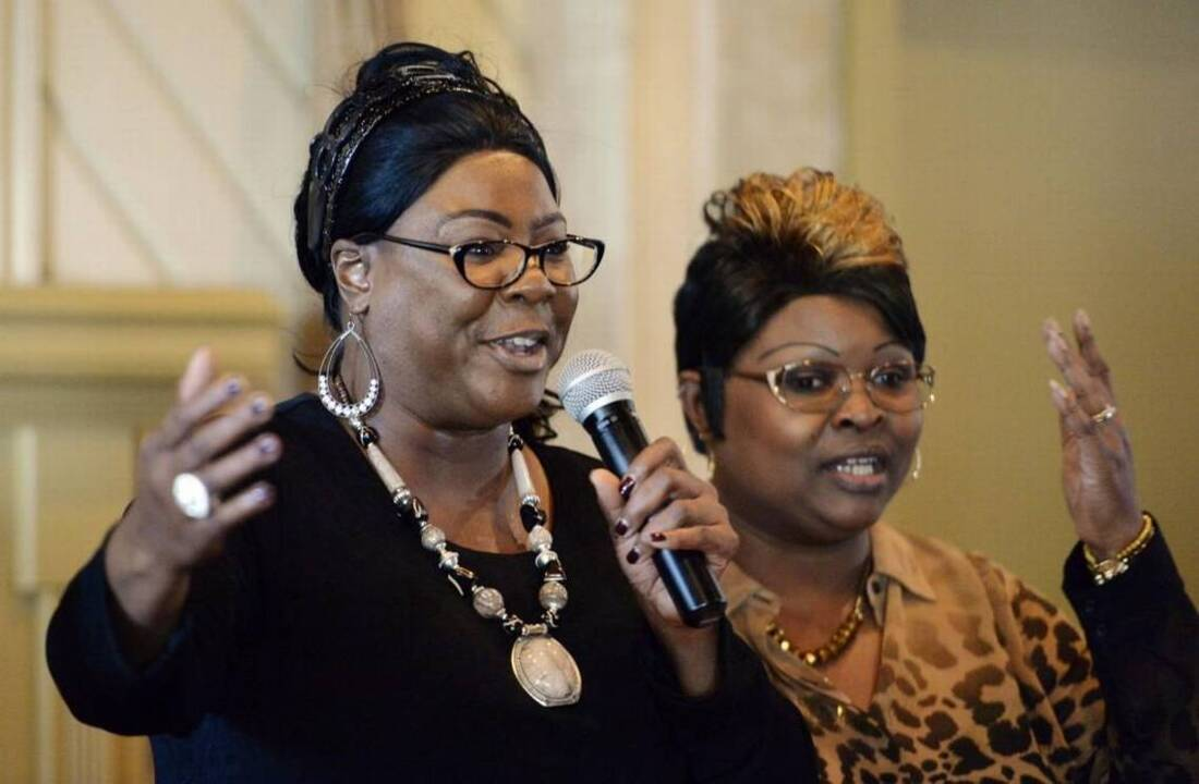 Omarosa and Diamond & Silk stumped for Trump, Pence at Houston Lake Country Club in Perry, GA   Macon Telegraph