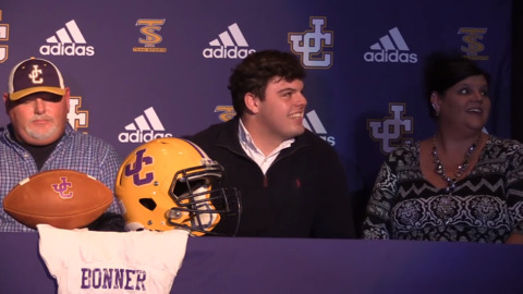 Jones County lineman Trey Bonner signs intent to attend Georgia State