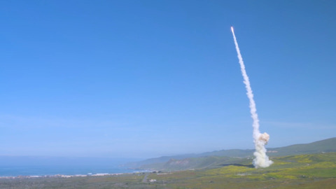 US military tests missile interceptors in California
