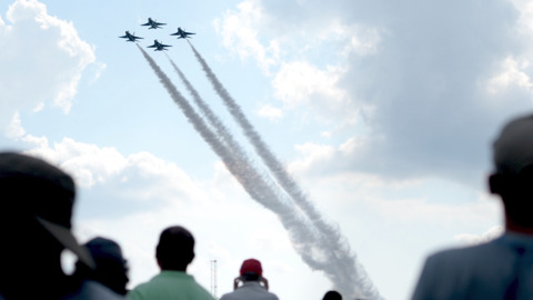 Our favorite photos from Robins air show