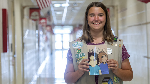 Houston County student who wrote anti-bullying book wants children to stand up for themselves