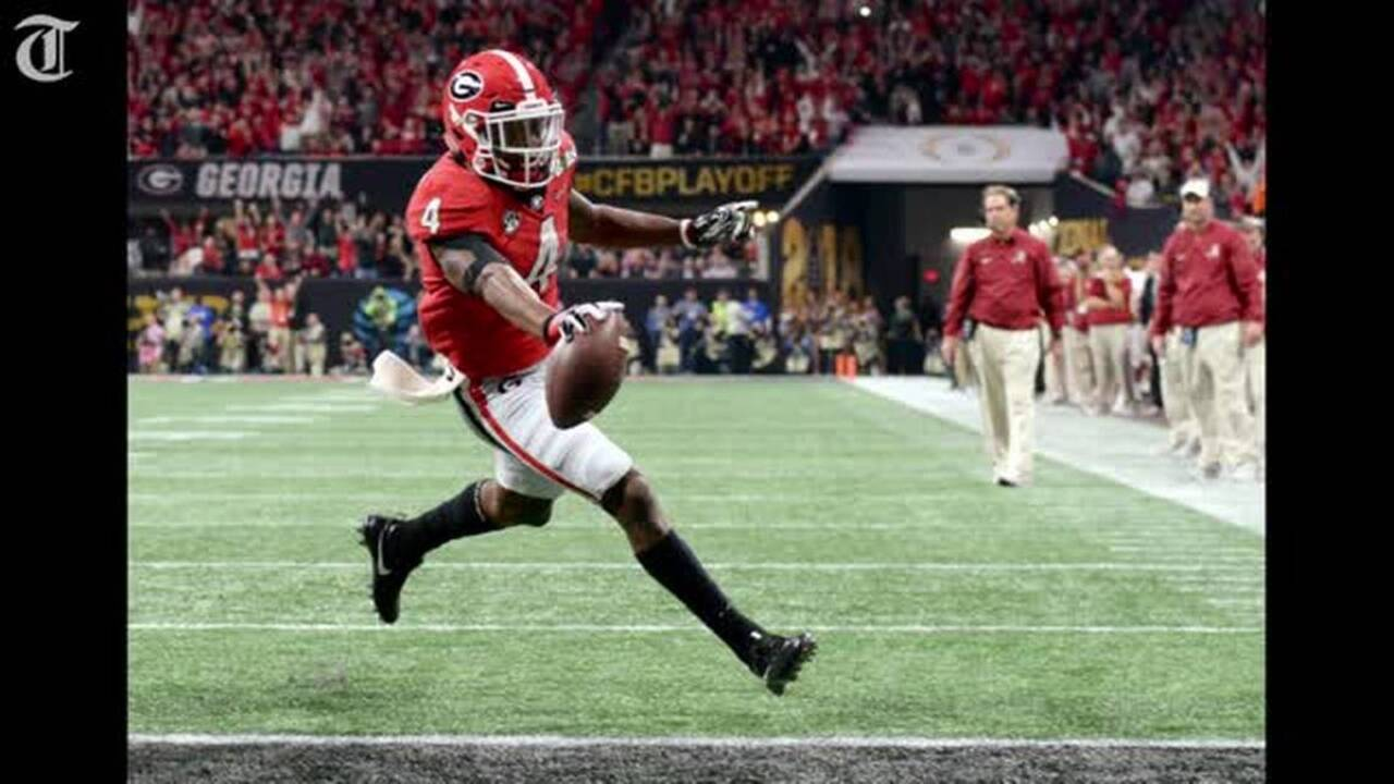 Riley Ridley Rivaled Brother Calvin Ridley In National Championship Game Macon Telegraph