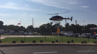 Coliseum Medical Centers unveils its new helipad for emergency patients