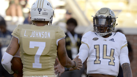 Yellow Jackets quarterbacks excited about new offense