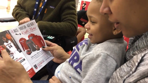 Meet Jacie Taylor, 2-year-old daughter of Lady Bulldogs' head coach