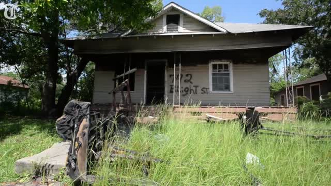 Houses condemned five years ago are still standing. But why?
