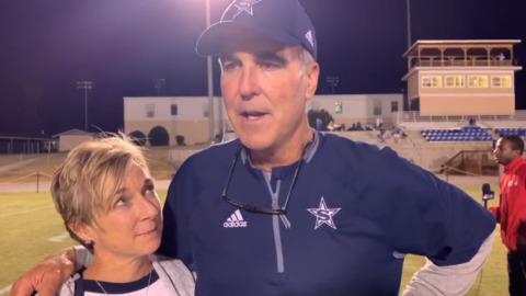 Stratford head coach Mark Farriba talks about 'good team win' over rival Tattnall