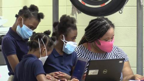 Bibb school system distributing over 13,000 electronic devices to students