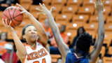 Mercer's Kahlia Lawrence, Georgia's Mackenzie Engram hear names called in WNBA draft