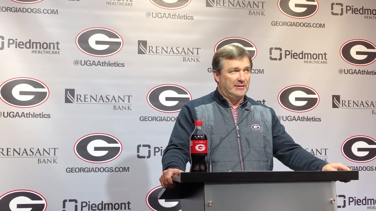 UGA's Kirby Smart Talks About Upcoming Game Against Auburn